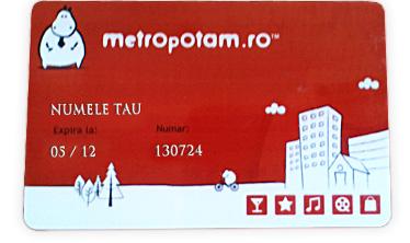 Card Metropotam
