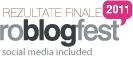 Rezultate finale roblogfest 2011